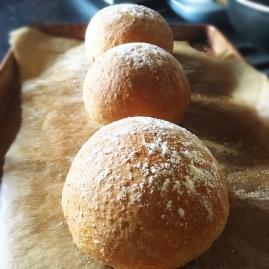 Fig+Rye Bread Roll Home Bake