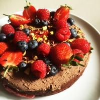 Fig+Rye Chocolate Cake Vegan
