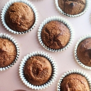 Fig+Rye Ginger Chocolate Cup Cakes