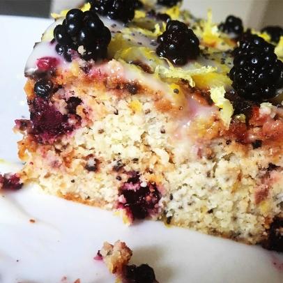 Fig+Rye Lemon Blackberry Courgette Cake