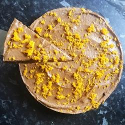 Fig+Rye Raw Chocolate Orange Tart Whole