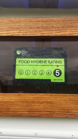Fig+Rye Trailer Food Hygiene